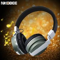 NKOBE B08 Bluetooth Headset Wireless Headphones Stereo Sport Bluetooth Headphone Earbud Noise Cancelling Bluetooth Headset Phone