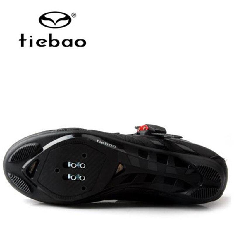 Tiebao Velosiped ayaqqabıları Road Bikes Auto-lock Ayaqqabıları - Velosiped sürün - Fotoqrafiya 5