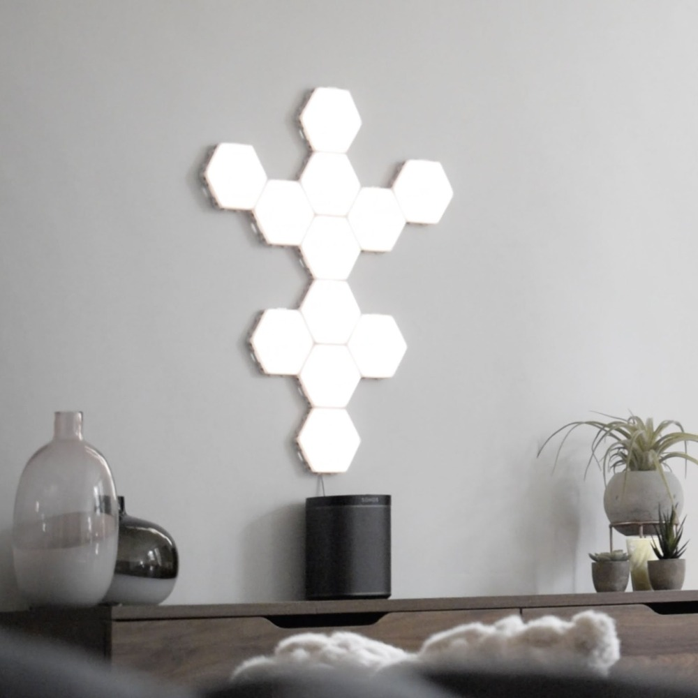 Modular Magnetic Lights white for holidays