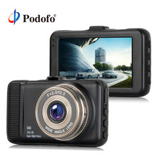 """Podofo Auto DVR 3 """"HD Videocamera per auto Dashcam registrazione del ciclo cancelliere Video Recorder Camcorder Dvr Registrator G-sensor"""