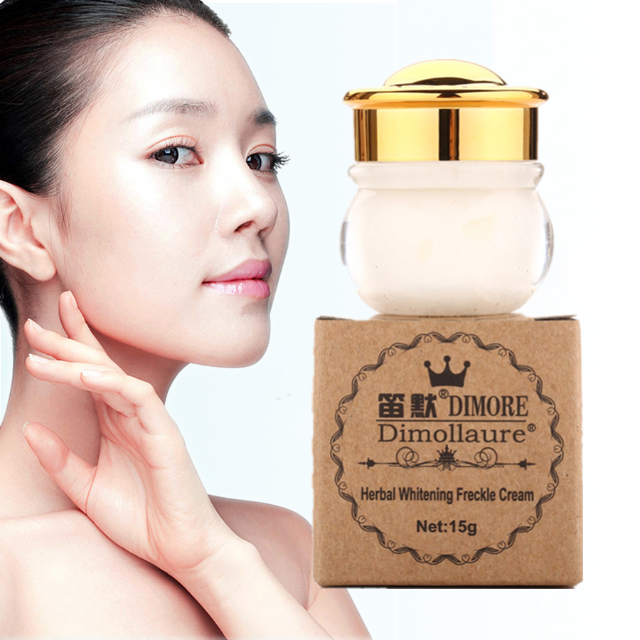 Dimollaure whitening Freckle cream Strong effect Removal melasma pigment Melanin Acne scars Dimore face care whitening cream