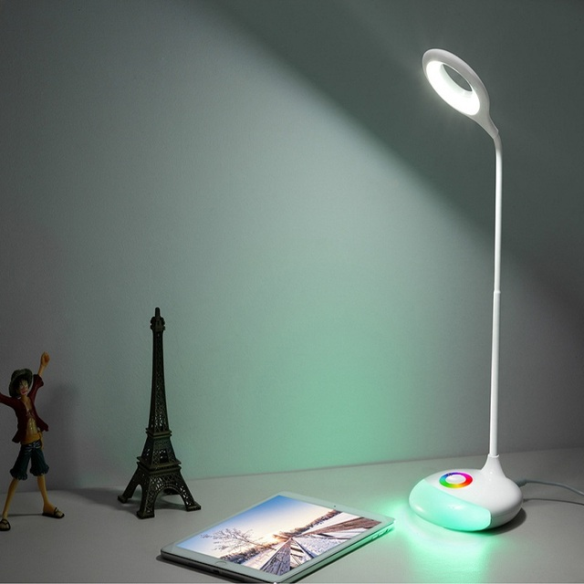 Rechargeable led table lamp usb touch sensor led dimmable desk lamp rechargeable led table lamp usb touch sensor led dimmable desk lamp adjustable rgb nightlight color changeable aloadofball Choice Image