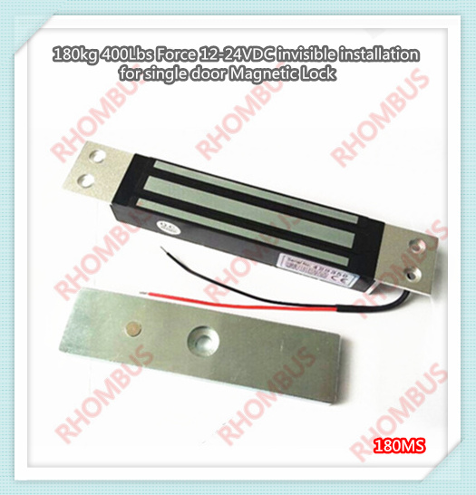 180kg 400lbs Force 12vdc Invisible Installation for Single Door Magnetic Lock ключ накидной 12 гранный force f 759