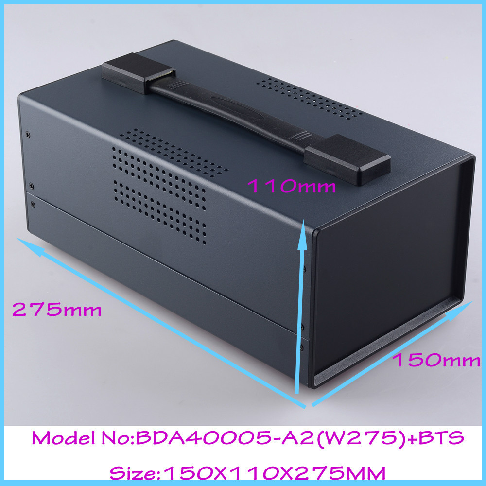 (1pcs)150x110x275mm instrument enclosure electronic steel iron box project box enclosures for electronics outlet case 1 piece free shipping small aluminium project box enclosures for electronics case housing 12 2x63mm