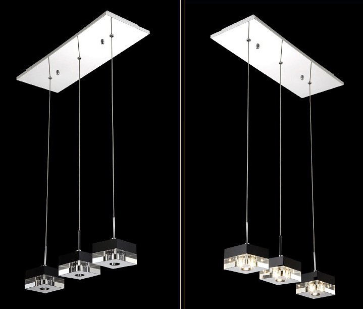 buy led modern crystal chandelier 220v light fixtures lustre crystal decorative. Black Bedroom Furniture Sets. Home Design Ideas