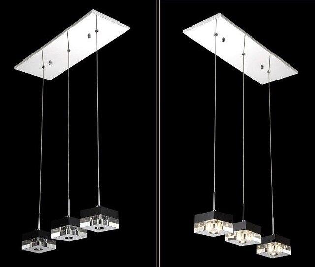 Led Modern Crystal Chandelier V Light Fixtures Lustre Crystal Decorative Pendant Led Light Lighting Living