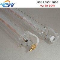 LSKCSH Шанхай SP 80 Вт CO2 лазерной трубки для лазерной гравировки резки высокое качество, длительный срок службы 6 месяцев гарантии