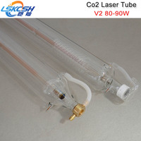 LSKCSH Shanghai SP 80W CO2 laser tube for laser engraving cutting machines high quality long lifetime 6 month warranty