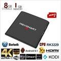 NEXSMART D32 RK3299 A7 Quad-core android 5.1 tv box 1G 8G 4 K h.265 kodi 16.1 conjunto top box suporte DLNA miracast Mídia jogador