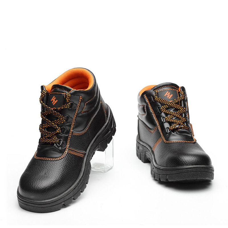 Mens Steel Toe Safety Work Shoes Ankle Boots PU Leather Rubber Sole Puncture-proof Protective Boots Outdoor Working Hiking     Mens Steel Toe Safety Work Shoes Ankle Boots PU Leather Rubber Sole Puncture-proof Protective Boots Outdoor Working Hiking