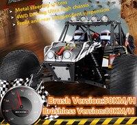 Professional гоночный электрический RC автомобиль FS 53910 1/10 щетка/бесщеточный 50/80 км/ч 1:10 4WD highspeed RC автомобиль Monster Trunk VS 21101