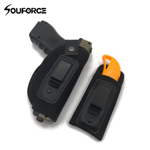 Image 1 - Universal Tactical Gun Holster Diving Cotton Invisible Waist Sleeve with Magazine Bag fits All Gun Sizes for Hunting Accessory
