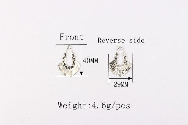 Купить новинка 5 шт/лот 40х29 мм ретро античный цинковый сплав полумесяц