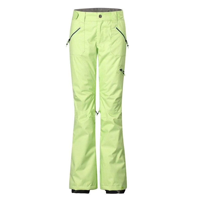 Acheter GSOU NEIGE véritable dame en plein air ski pantalon unique plaque double plaque chaud et coupe vent pantalons imperméables 1420 de Ski Pantalon fiable fournisseurs
