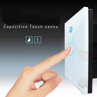 Baoblaze Smart WiFi Light Touch Switch App Remote Control Timing Light Switch US Plug