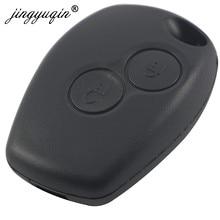Jingyuqin 2BTN Remote Key Shell-Fall Für Renault Megane Modus Espace Laguna Duster Logan DACIA Sandero Fluence Clio Nissan