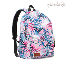 2019 Canvas Student A Bag Leisure Travel Laptop Backpack Women Woman Mochila Mujer School Bags For Teenage Girls Backpacks backpack women fashion 2016 canvas leisure travel bag korean backpacks for teenage girls school bags brand student shoulder bag