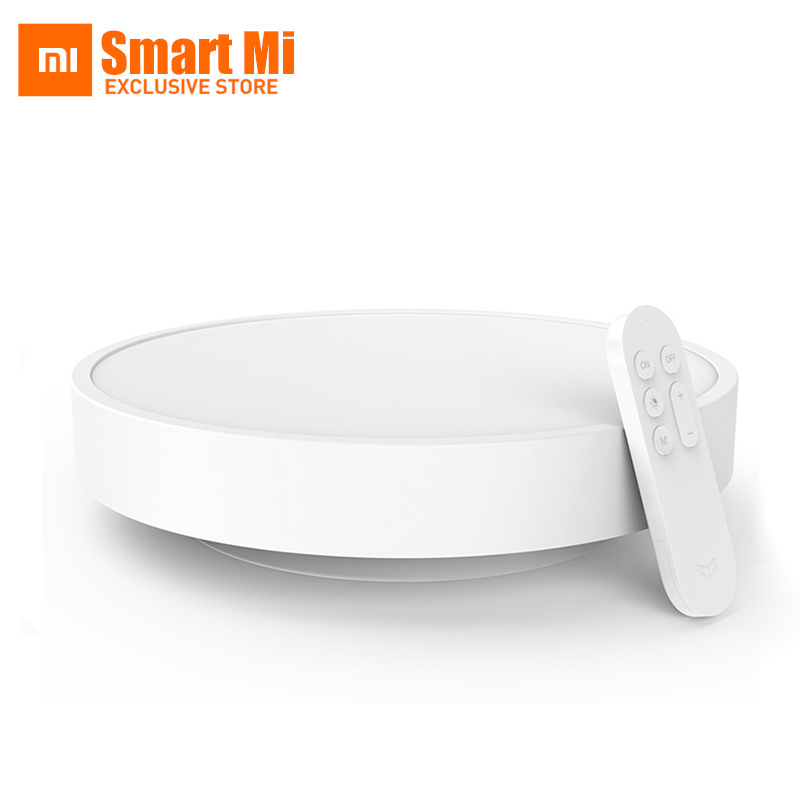 In Stock Original Xiaomi Yeelight Smart Ceiling Light Lamp Remote APP WIFI Bluetooth Control Smart LED Colorfull IP60 Dustproof original xiaomi yeelight led smart bulb colorful e27 9w 600 lumens mijia light xiaomi smart phone wifi remote control
