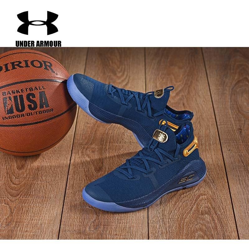 Under Armour homme Curry 6 chaussures de basket homme botte d'entrainement sous armure coussin baskets Zapatillas hombre deportiva US7-12