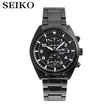 seiko watch men top Luxury Brand Waterproof Sport Wrist watch solar watch Chronograph
