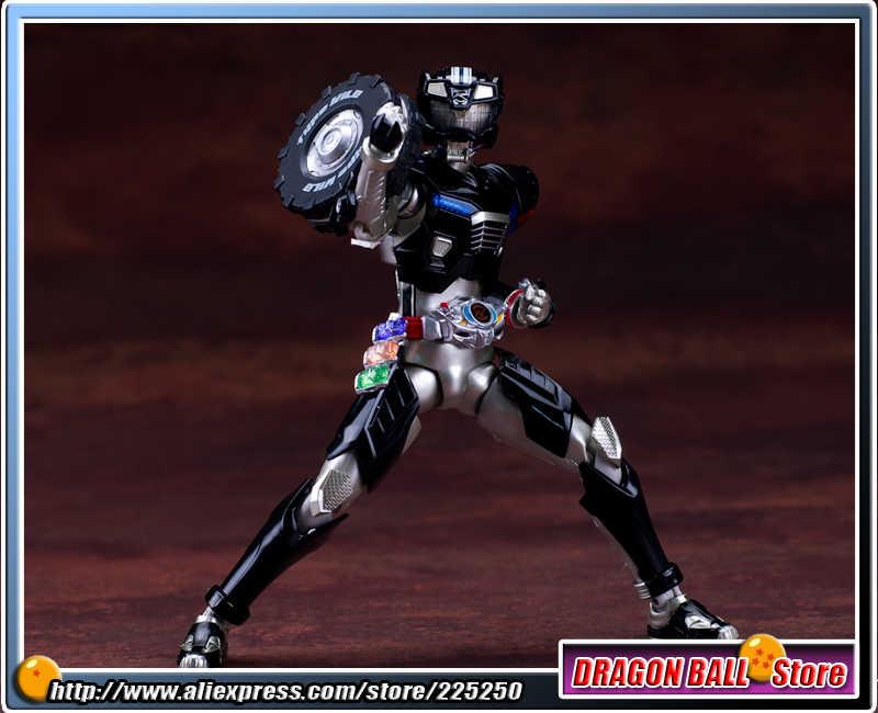 "Japão ""Kamen Masked Rider Drive"" Original BANDAI Tamashii Nations SHF/S. h. figuarts Action Figure PVC Tipo Drive-Selvagem"