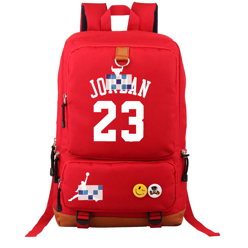 864db169ae1f HOT SALE Michael Jordan 23 backpack USA basketball gods fans student bookbag  large USB charging laptopbag luminous printing-in Backpacks from Luggage    Bags ...