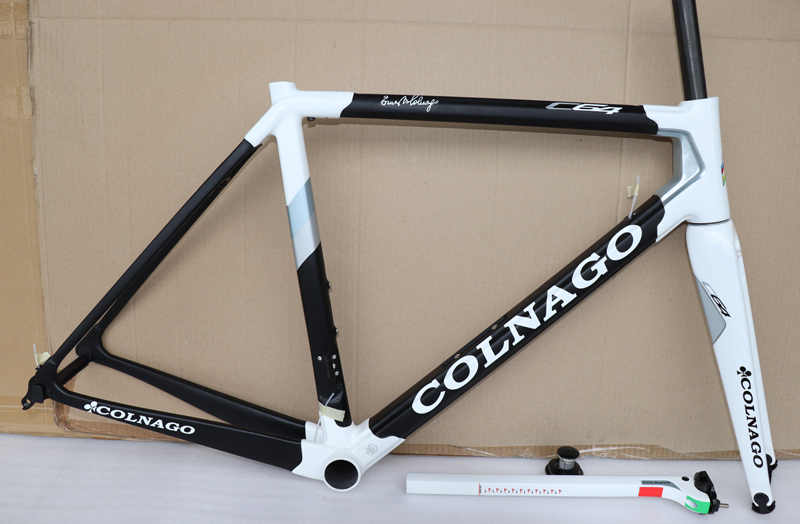 black white T1100 3K Matte Glossy Black Red Colnago C64 carbon road frame bicycle Frameset with