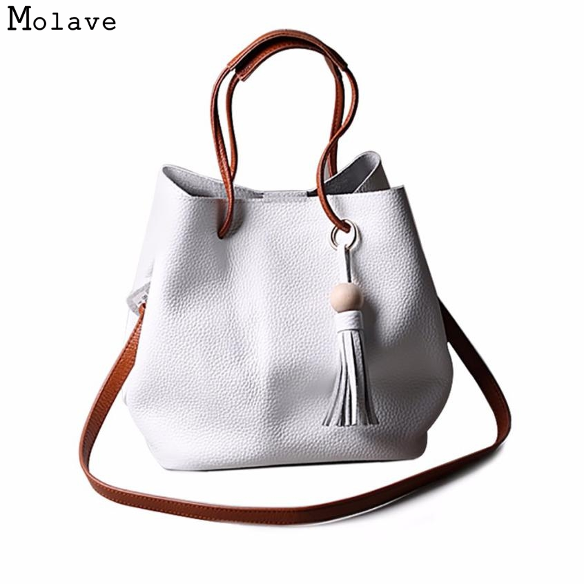 Naivety 2017 Women Handbag Tassel PU Leather Bag Bucket Satchel Shoulder Messenger Tote Crossbody Bags 28S7616 drop shipping feitong famous brand bags for women 2016 fashion floral pu leather shoulder crossbody bag satchel handbag messenger bag bolsos