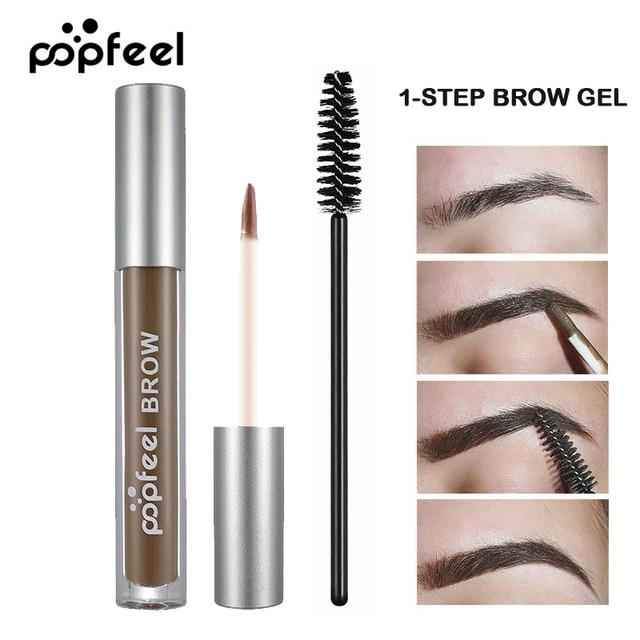 Professional Popfeel Brand Eye Brow Makeup For Women Men Long