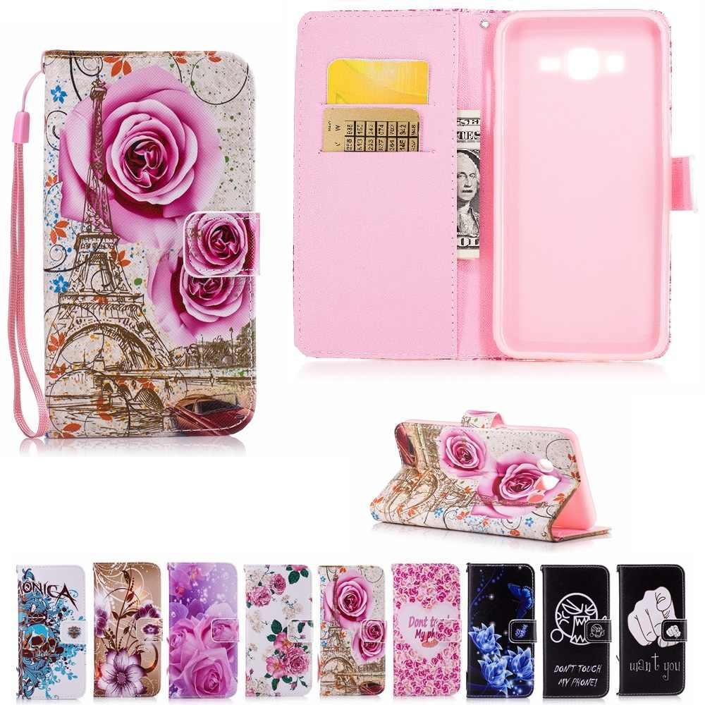 Luxury Leather Case For Samsung Galaxy J7 Neo J701F Wallet Bags For Samsung J7 Nxt Core J701h/DS J701FD/DS Flip Cover Butterfly