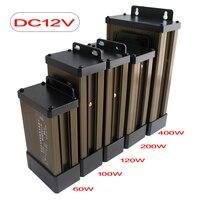 СВЕТОДИОДНЫЙ Драйвер Трансформаторы 12 24 В адаптер питания Трансформаторы освещения DC 12 В 24 в блок питания наружный непромокаемый