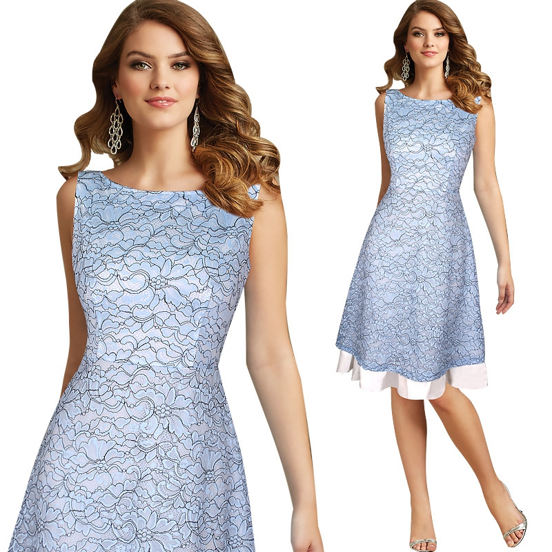 Womens Autumn Elegant Lace Embroidery See Through Lace Dress Suit Party Club Evening Special Occasion Vestidos Dress Suit