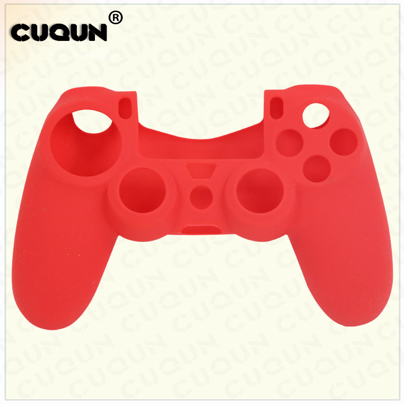 10PCs Silicone Protective Skin Cover Case for Sony Playstation PS4 Play Station PS 4 Dualshock 4 Game Gamepad Joystick