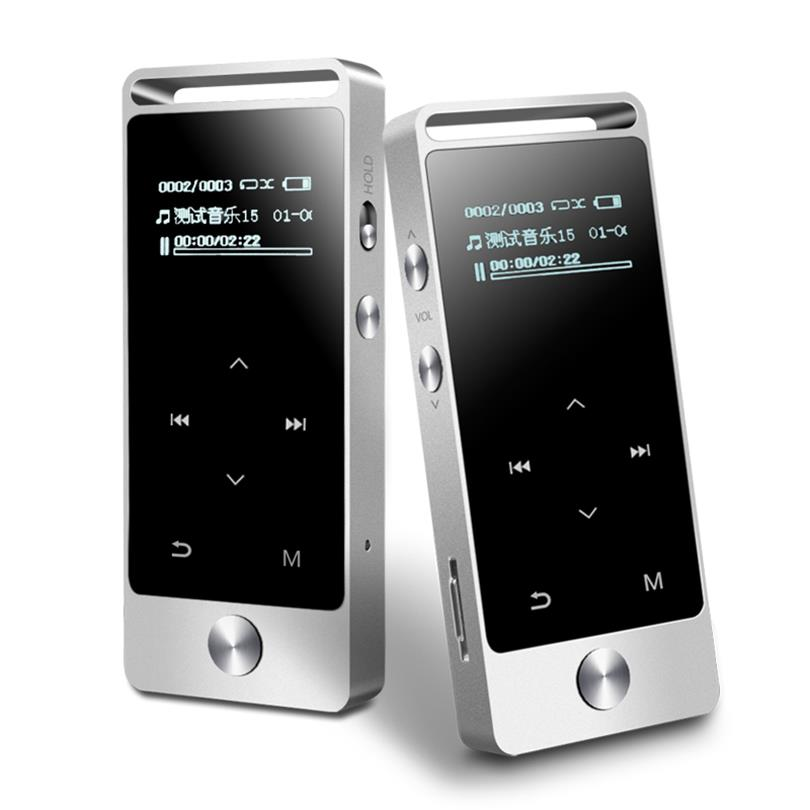 Original BENJIE S5 Touch Screen 8GB MP3 Music Player High Quality Lossless Alloy Metal Body 30hours