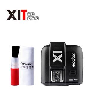 Image 1 - Godox X1T الارسال سلسلة TTL 2.4G HSS فلاش كاميرا Speedlite الزناد لكانون نيكون سوني أوليمبوس فوجي فيلم لوميكس باناسونيك