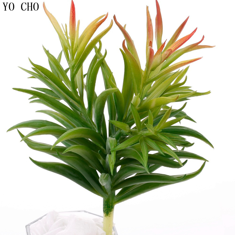 High quality succulent plants plastic Dianthus simulation plants silk flowers artificial plants for decoration home fake plants