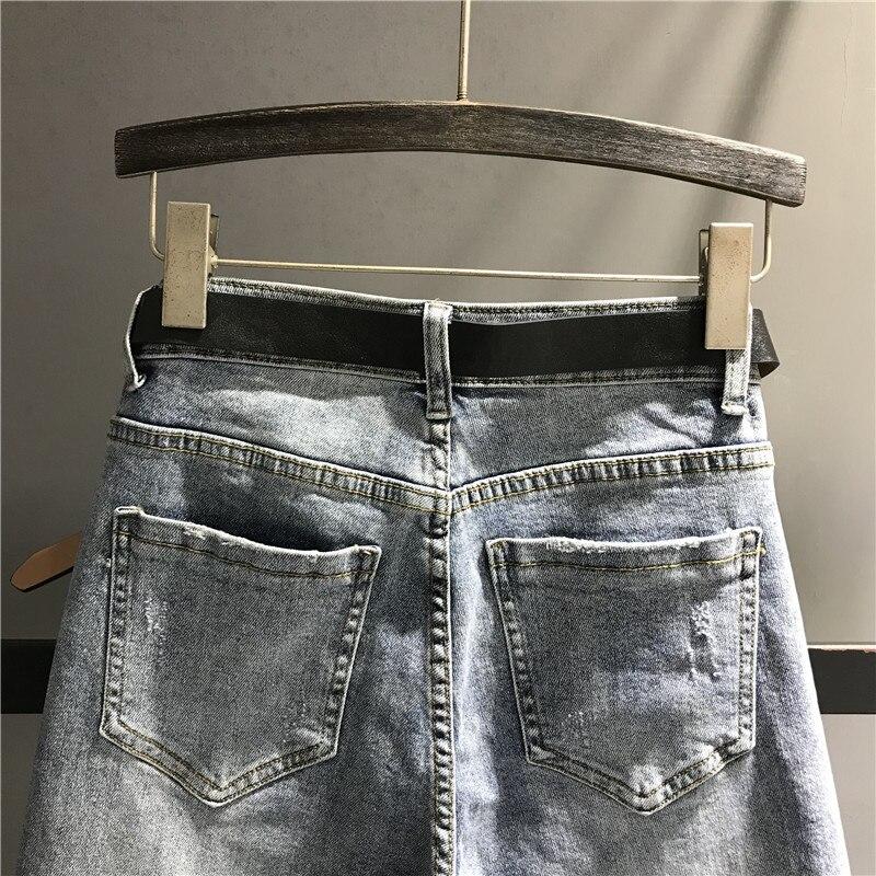 A Stretch Stampa Della Dei Per Stile K505 Jeans Harem Blu Donne Delle Strappato Alta Casual Pantaloni Femminile Vita Denim Lampo Le Di Modo Chiusura 0q6rSwP0