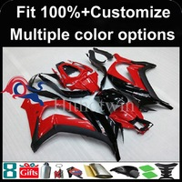 Injection Mold Red Black Motorcycle Cowl For Kawasaki ZX10R 11 13 2011 2012 2013 ZX10R 2011