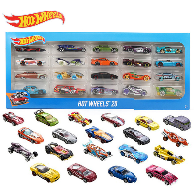 Hot Wheels 20 Piece Gift Pack Fast And Furious Die Cast Vehicles