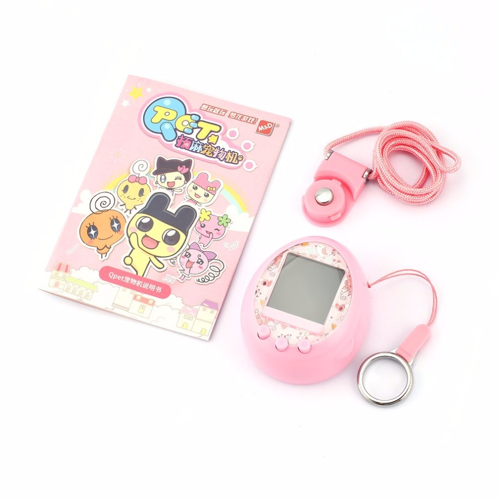 HAOBA 90S Nostalgic Electronic Pets Toys  49 Pets In One Machine Online Interaction E-pet Virtual Cyber Pet Toy Tamagochi Gif