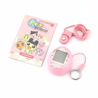 HAOBA 90S Nostalgic Electronic Pets Toys 49 Pets in One Machine Online Interaction E pet Virtual Cyber Pet Toy Tamagochi Gif