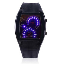 Hot Sale Digital LED Backlight Military Wrist Watch Wristwatch Sports Meter Dial es For Men RPM Turbo Sport