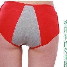 Женский гигиенический уход серия леди герметичные физиологические трусики сексуальные менструальный период трусы как женщины menses нижнее белье поставка