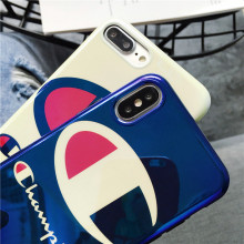 Blue Light Champion Phone Case iPhone  XR X 8 7 6 6S Plus Case