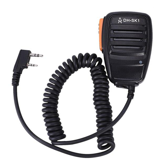 Walkie talkie mikrofon ręczny dla Kenwood, Quan Sheng, Baofeng UV5R/888 S
