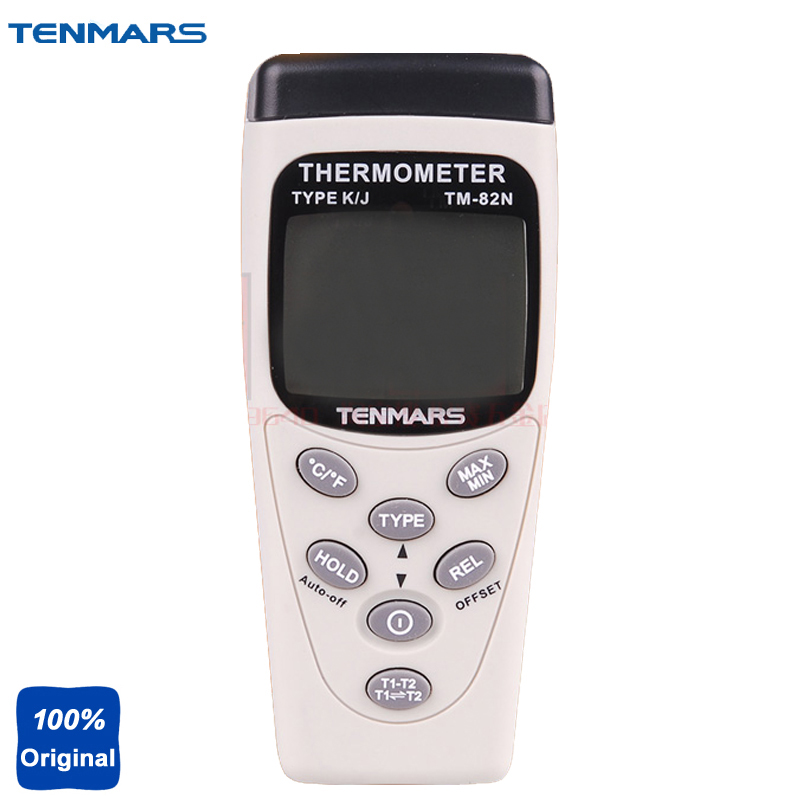 TM-82N Highly Accurate Dual Input Thermometer with 0.05% Basic Accuracy for Precise Measurment Temperature