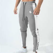 Mens Jogger Track Hosen Fitness Studios Fitness nähte Zipper ankle Dünne Jogginghose Hosen Männlichen Marke hosen männer