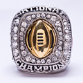 Wholesale 2015 Buckeyes Ohio State National Zinc Alloy silver plated fashion Custom Sports Replica Fans World Championship Ring