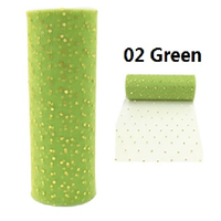 5 SZTUK 10 M/Dużo 6 inch Tulle Rolls Ślubne Organza Gaza Elementem Dekoracji Papieru Tkanki Tulle Rolka Szpula Craft Party Decor