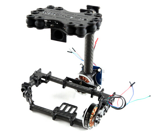 FPV Brushless Camera Gimbal for Mini SLR Sony 5N W/O motor & controller - Carbon Fiber V2.0 walkera rc g 3s sony gimbal professional mini metal brushless gimbal for sony rx100ii camera